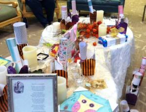 Share gifts in memory of those who had passed before us were a highlight of our Opening Samhain Celebration.